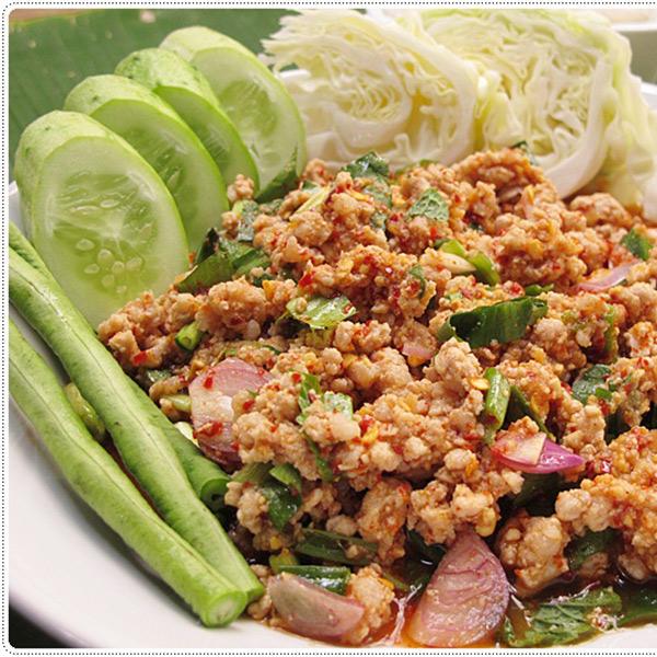 ลาบหมู | Thai Corner Restaurant