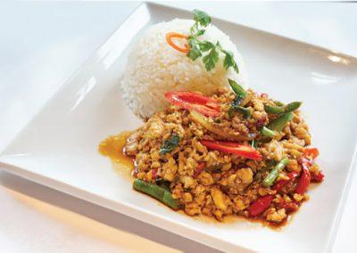 Thai corner krapaorice