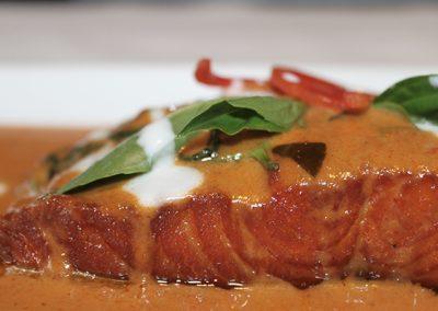 Thai corner - panang salmon small