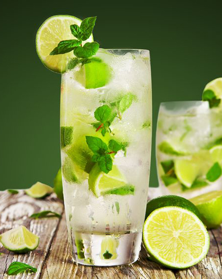 a picture of cocktail - virgin mojito